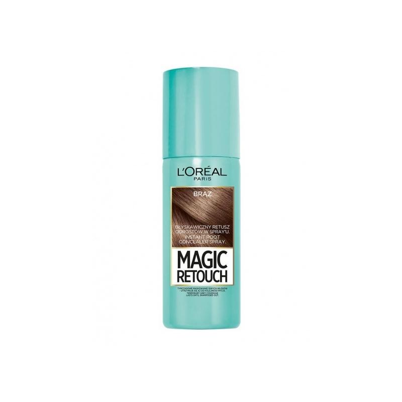 L`Oreal Magic Retouch juuksejuuri tooniv sprei pruun