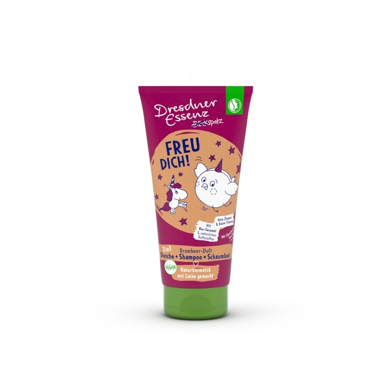 Dresdner Essenz laste dušigeel-šampoon murakasS
