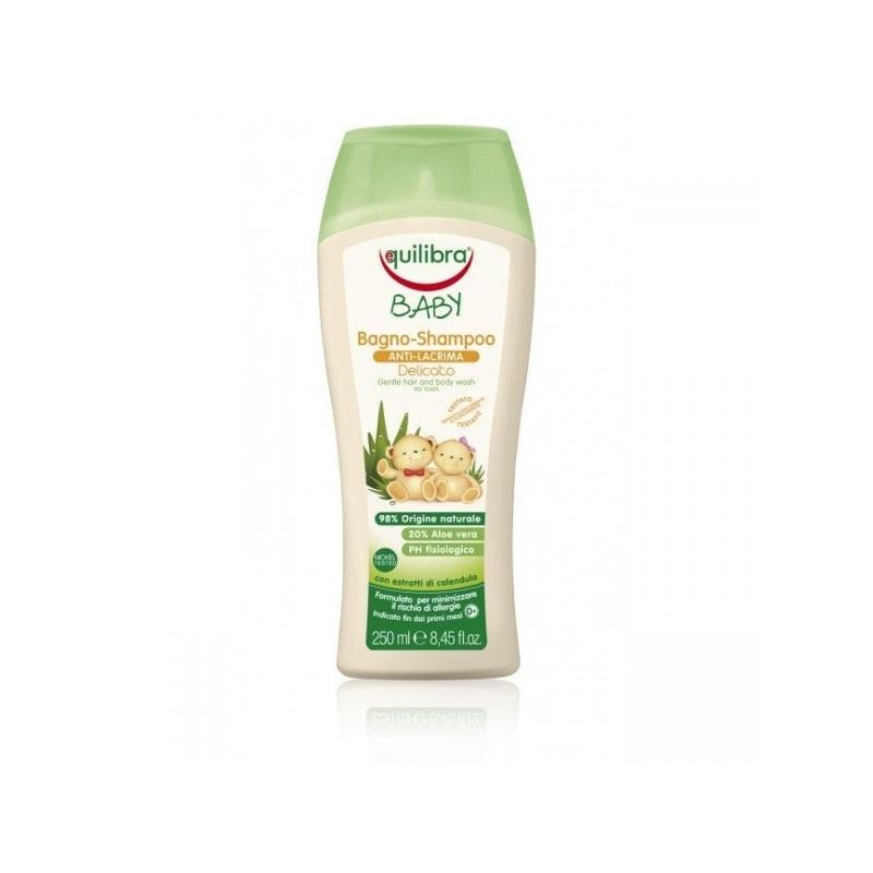 Equilibra beebi šampoon 98% naturaalne