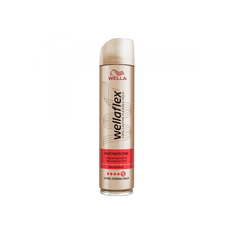 Wellaflex Heat Protection juukselakk ultra strong hold