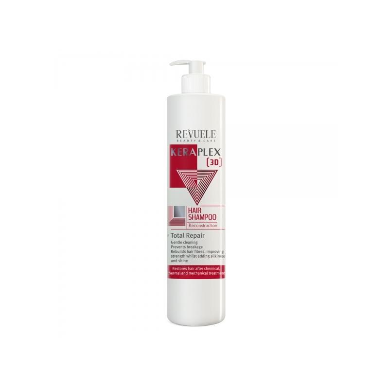 Revuele keraplex 3D taastav šampoon kahjustatud juustele 100015