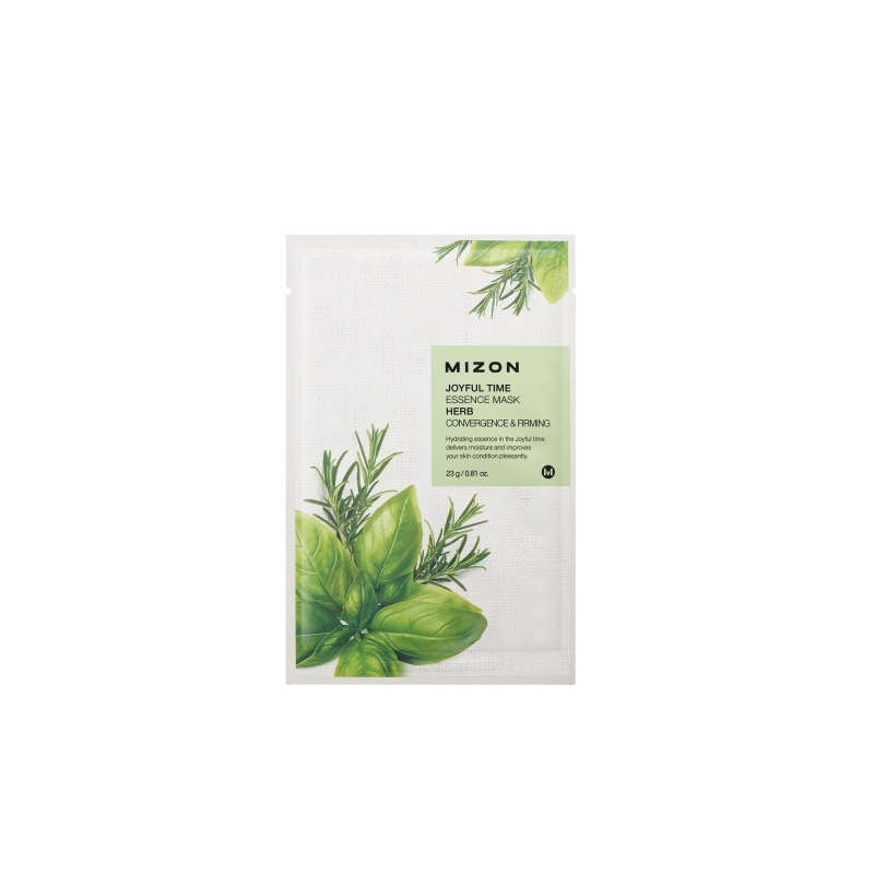 Mizon Joyful Time Essence Herb näomask