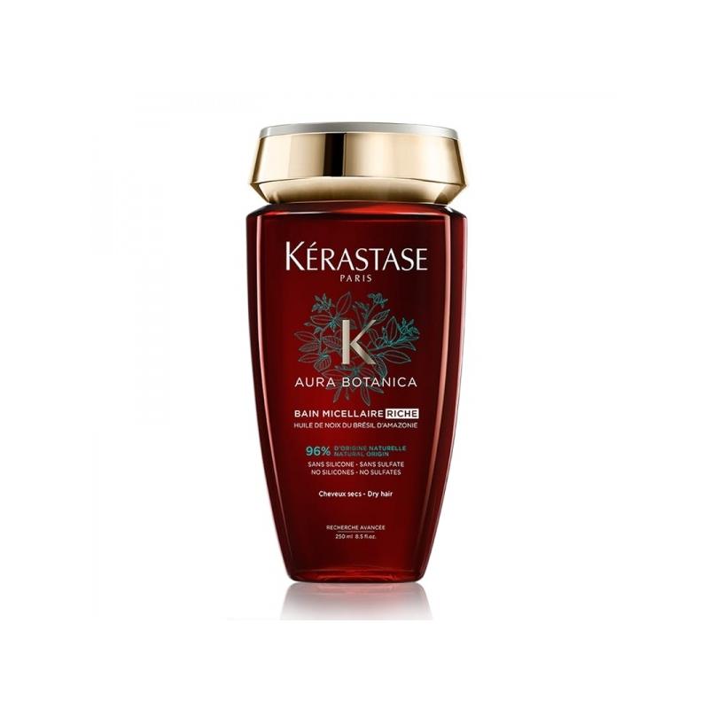 Kerastase Aura Botanica Micellaire Riche rikkalik lõhnav šampoon tuhmidele ja väga kuivadele juustele.