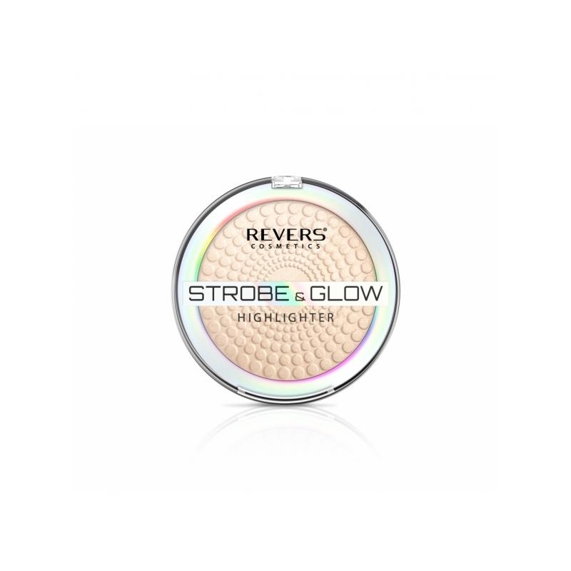 "Revers Strobe&Glow Highlighter särapuuder 3""champagne"""