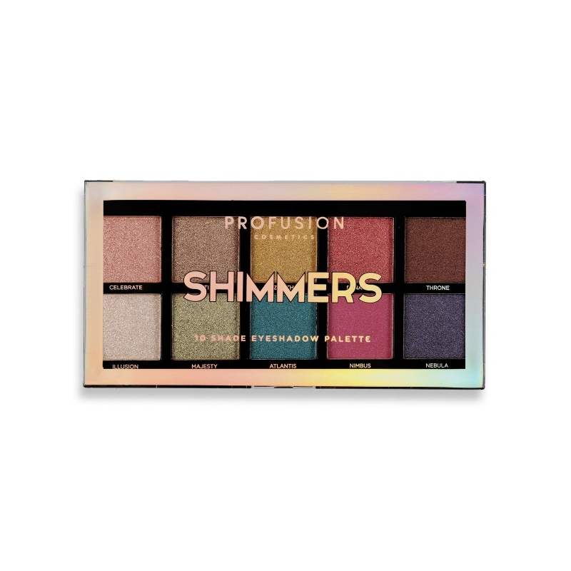 Profusion Shimmers lauvärvipalett 1800B