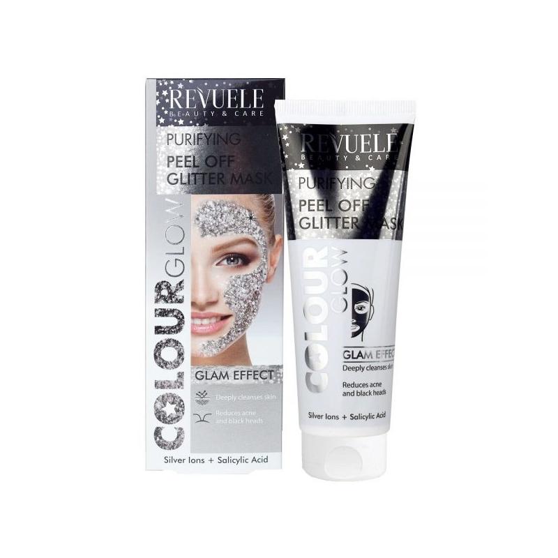 Revuele Peel Off Glitter Mask puhastav mask hõbedaga 100886