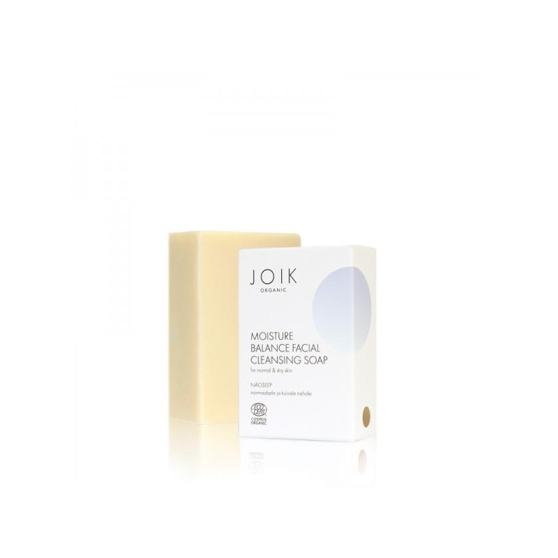 Joik Organic Moisture Balance näoseep normaalsele/kuivale nahale