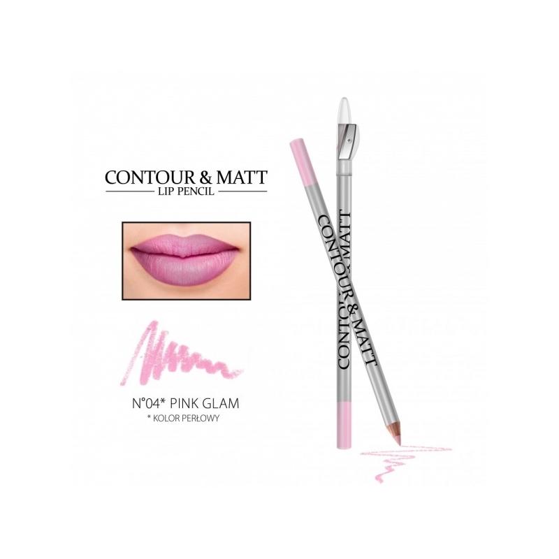 "Revers Contour&Matt huulepliiats 04 ""pink glam"""