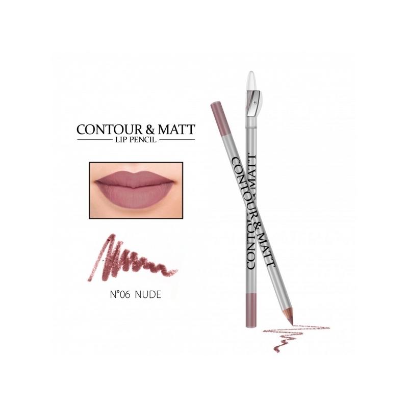 "Revers Contour&Matt huulepliiats 06 ""nude"""