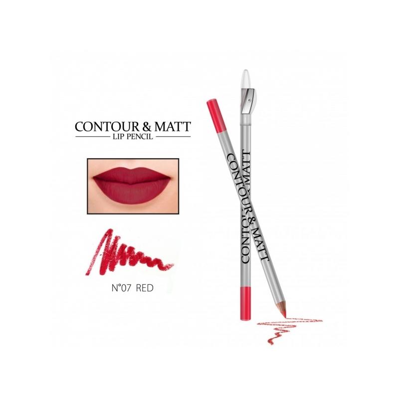 "Revers Contour&Matt huulepliiats 07 ""red"""