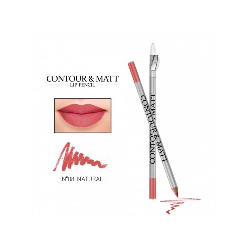 "Revers Contour&Matt huulepliiats 08 ""natural"""