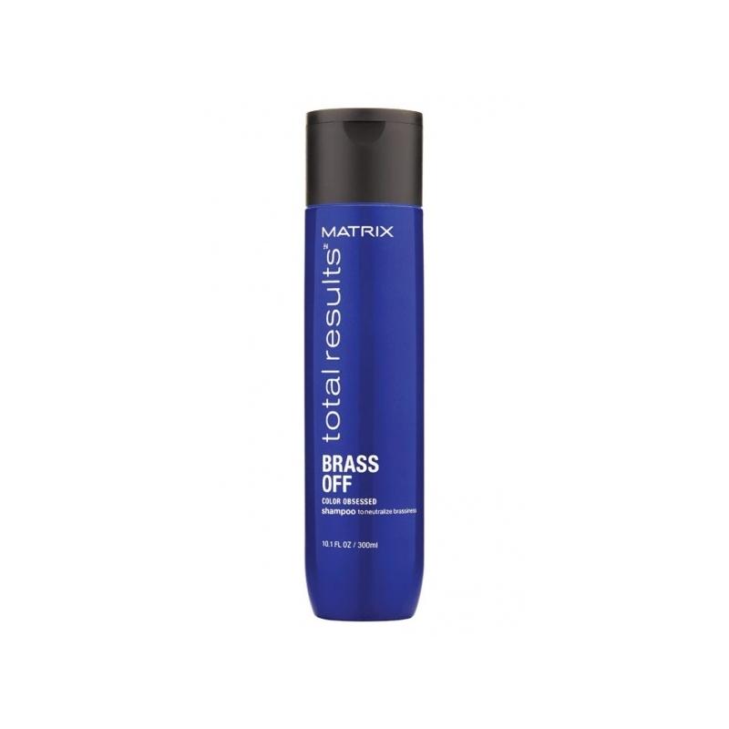 Matrix Total Results Color Obsessed Brass Off šampoon sooja tooni neutraliseerimiseks