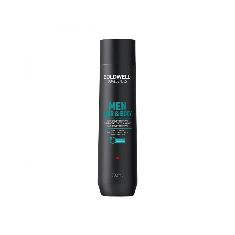 Goldwell Dualsenses Men hair&Body elustav šampoon meestele