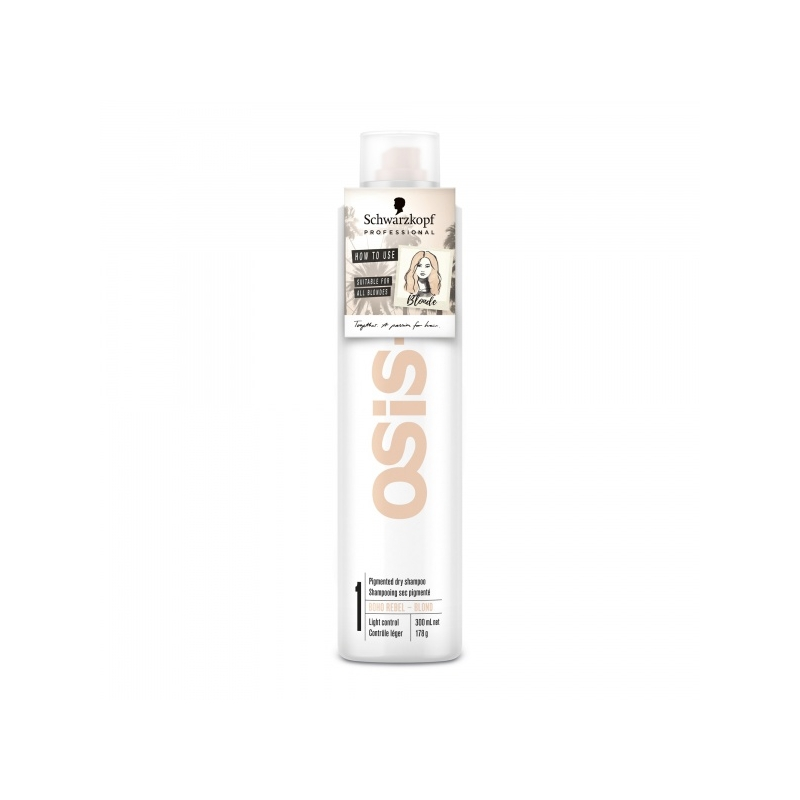 Schwarzkopf Professional Osis+ Boho Rebel Blond kuivsampoon