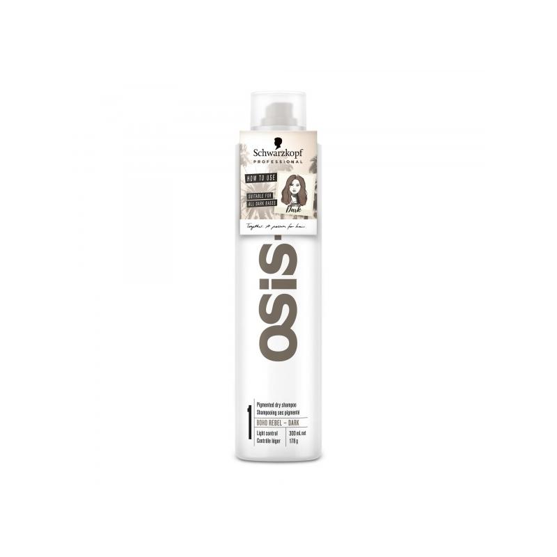 SCH.OSIS+ KUIVŠAMPOON / tumedatele juustele 300 ml