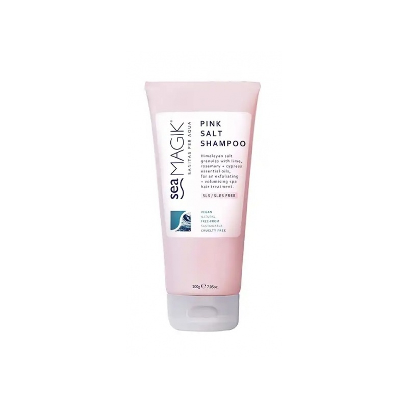 Dead Sea Spa Magik Pink Salt šampoon Himaalaja roosa soolaga