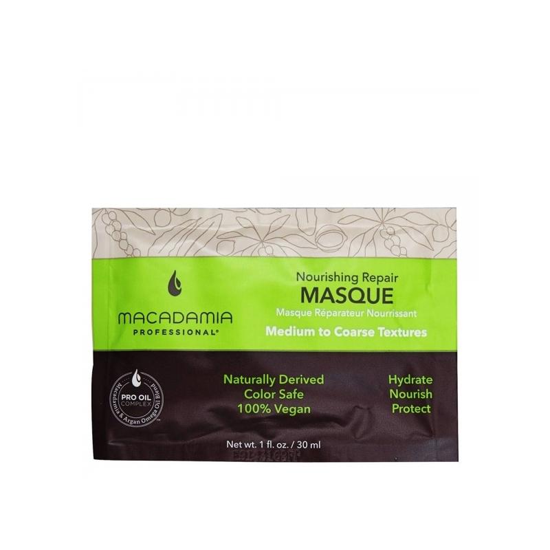 Macadamia Professional toitev juuksemask 30ml