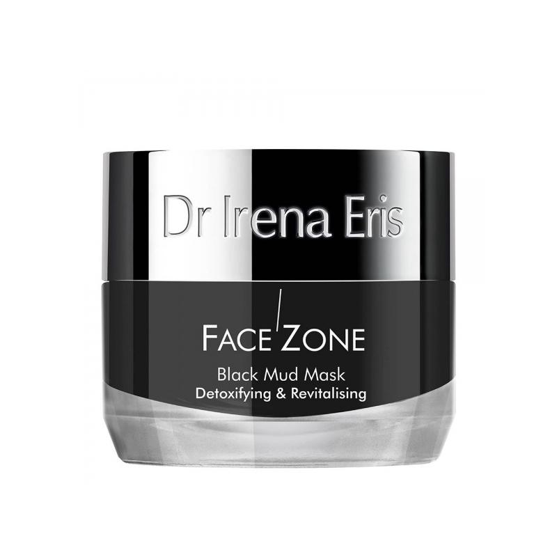Dr. Irena Eris Face Zone mürke väljutav ja taaselustav must mudamask