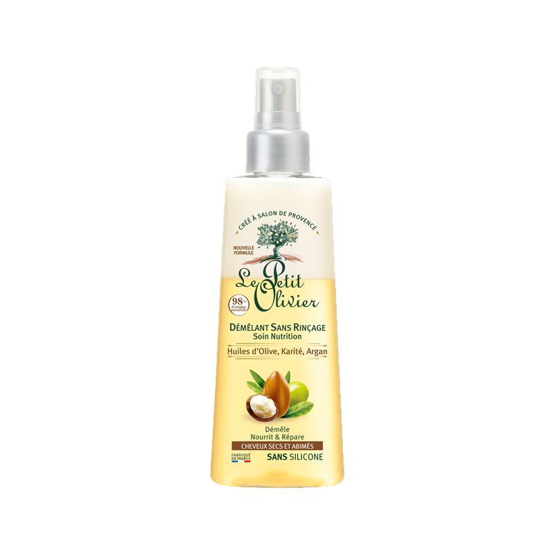 Le Petit Olivier pusapalsam kuivadele/kahjustatud juustele shea-,oliiv-ja argaaniaõliga