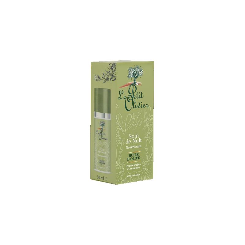 Le Petit Olivier öökreem oliivõli ja aloe veraga