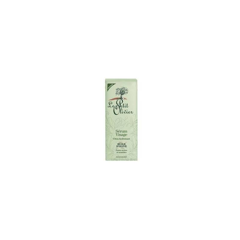 Le Petit Olivier niisutav näoseerum oliivõli ja aloe veraga