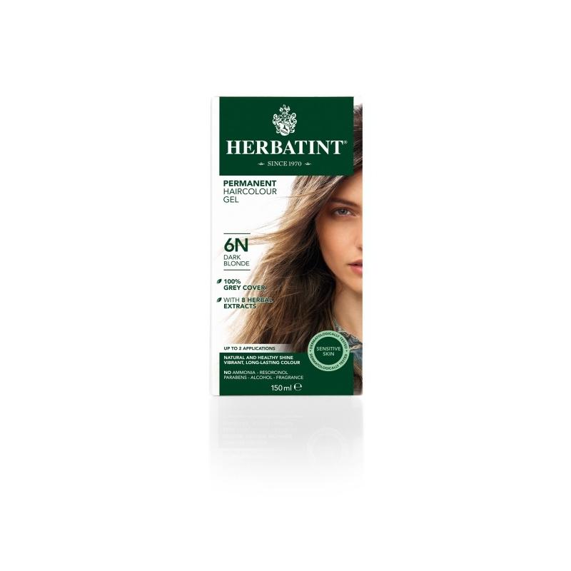 Herbatint Juuksevärv Tume blond 6N