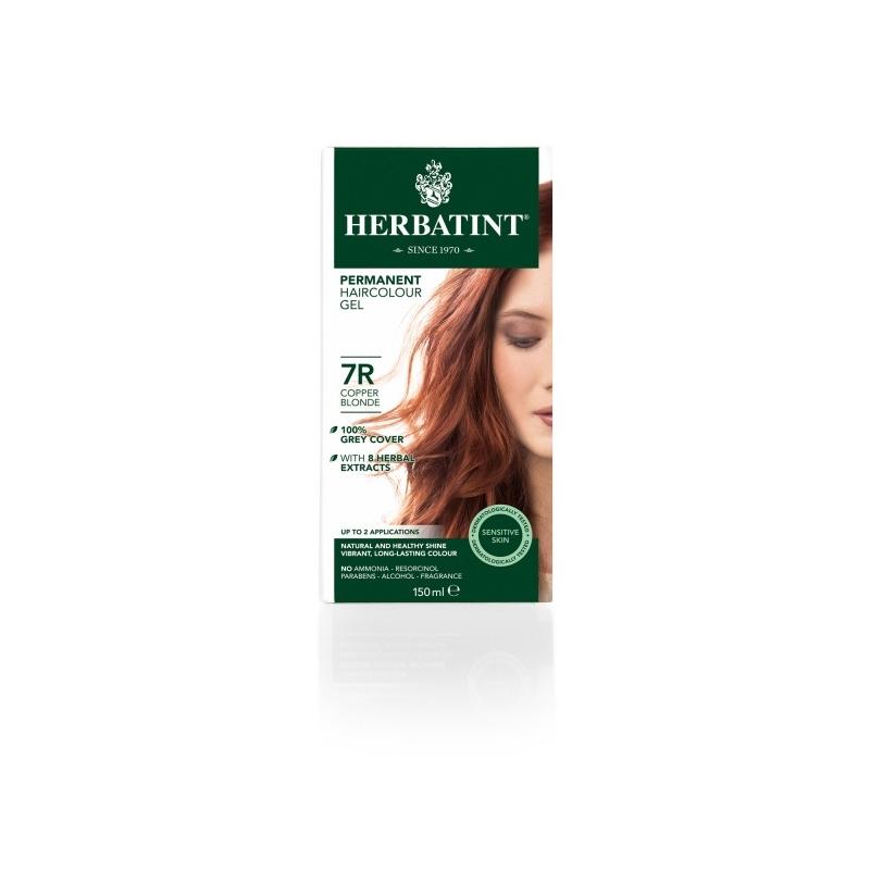 Herbatint Juuksevärv Vaskne blond 7R