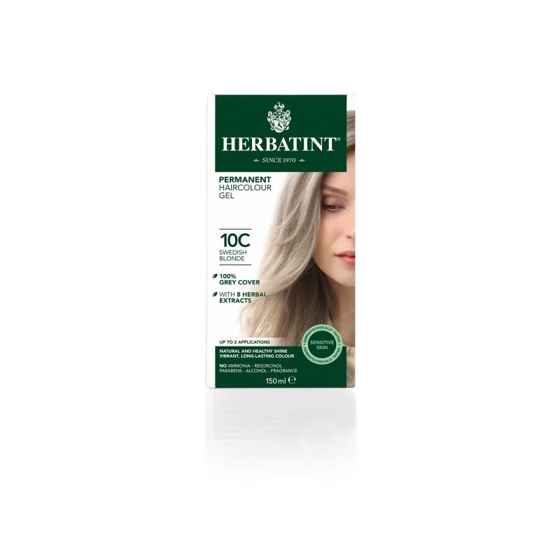 Herbatint Juuksevärv Skandivaavia blond 10C