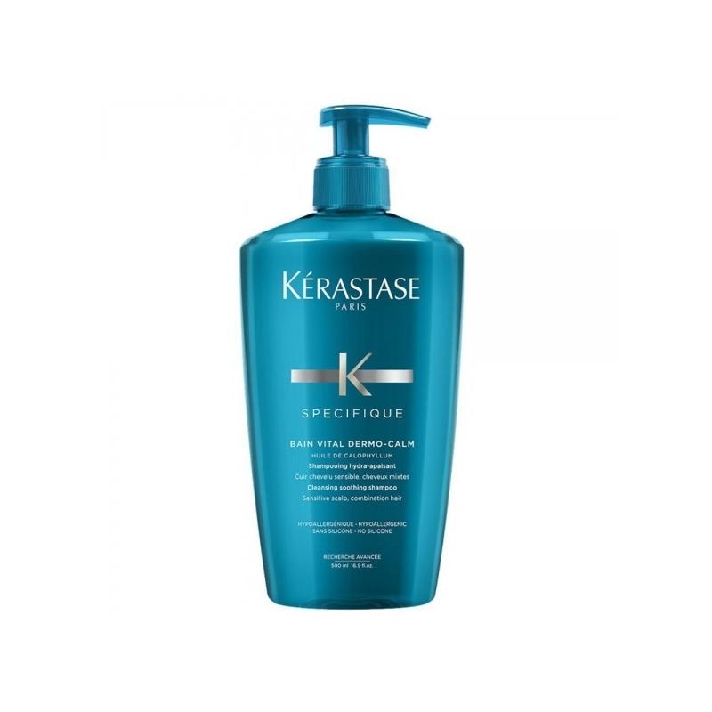 Kerastase Bain Vital Dermo-Calm šampoon tundlikule peanahale 500 ml