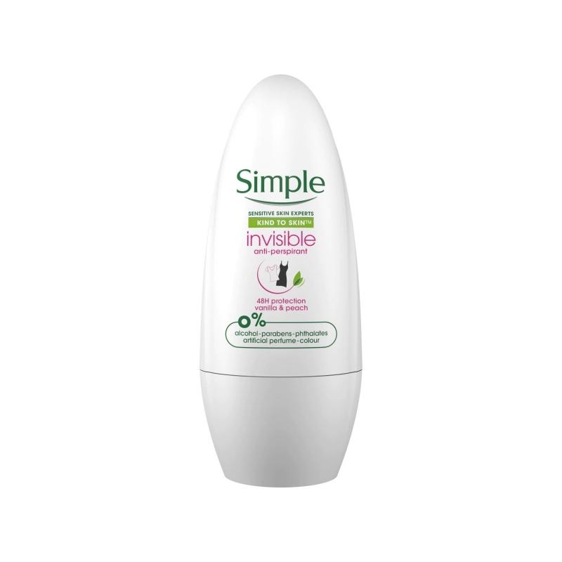 Simple rulldeodorant virsiku-vaniljelõhnaline
