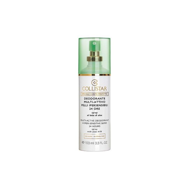 Collistar 24h deodorant tundlikule nahale