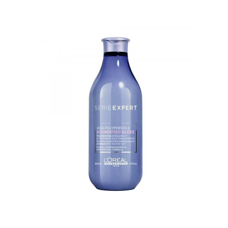 L´Oreal Professionnel  Blondifier Gloss taastav ja sära andev šampoon blondidele juustele