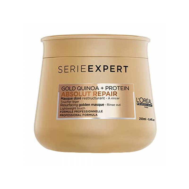 L´Oreal Professionnel Serie Expert Absolut Repair kuldne juuksemask 250ml