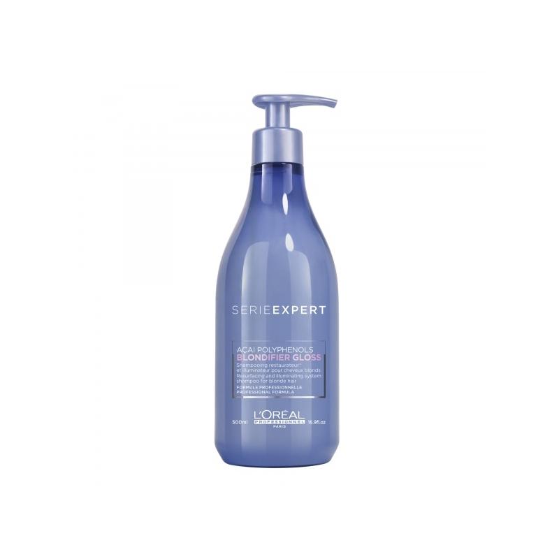 L´Oreal Professionnel Blondifier Gloss taastav ja šampoon blondidele juustele 500 ml