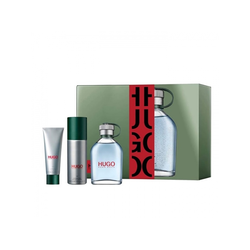 HUGO KOMPL.EDT125ML+DEO+DG