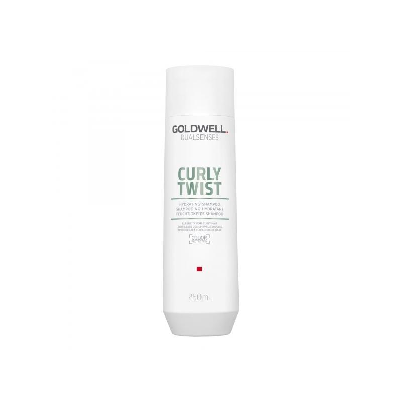 Goldwell Dualsenses Curly Twist niisutav šampoon lokkis või püsilokkidega juustele