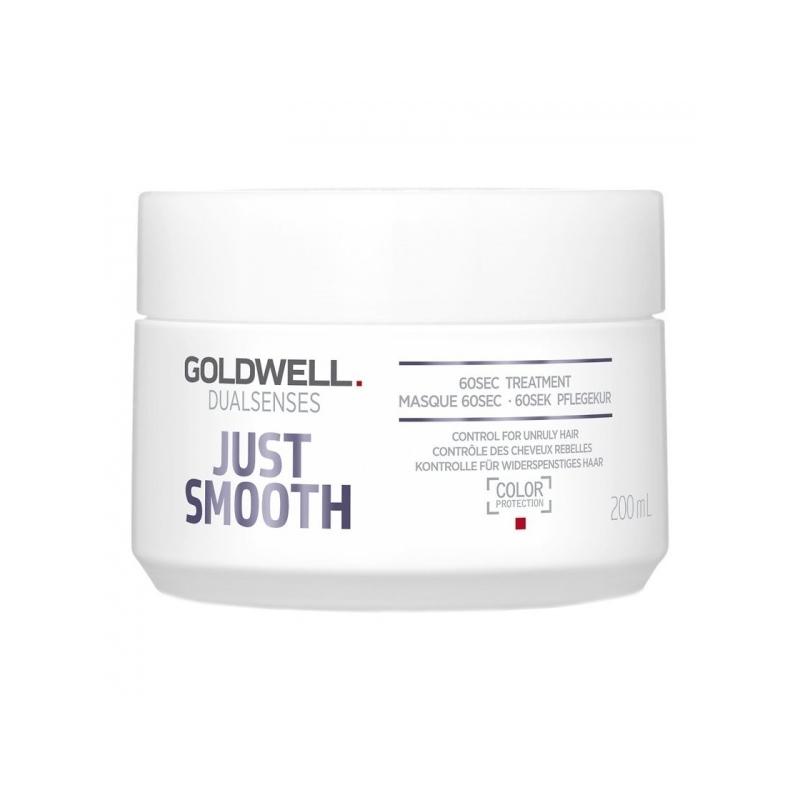 Goldwell Dualsenses Just Smooth 60 Sec juuksemask kahustele juustele