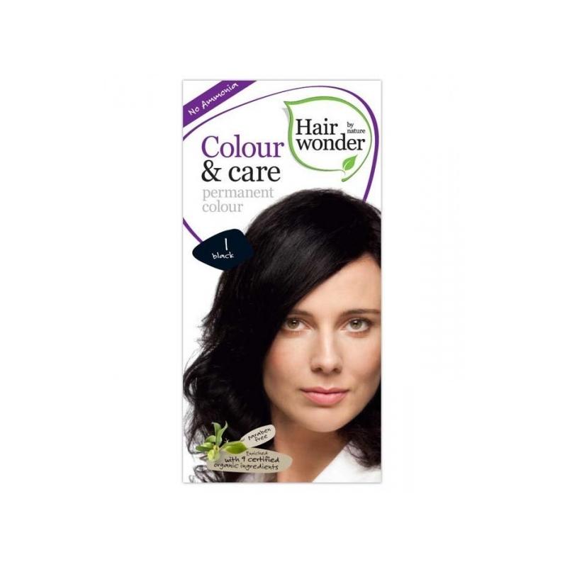 Hairwonder juuksevärv Colour and Care 1 must