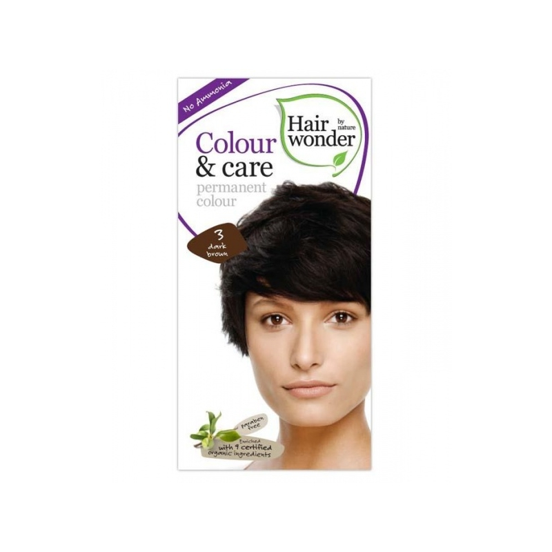 Hairwonder juuksevärv Colour and Care 3-tumepruun