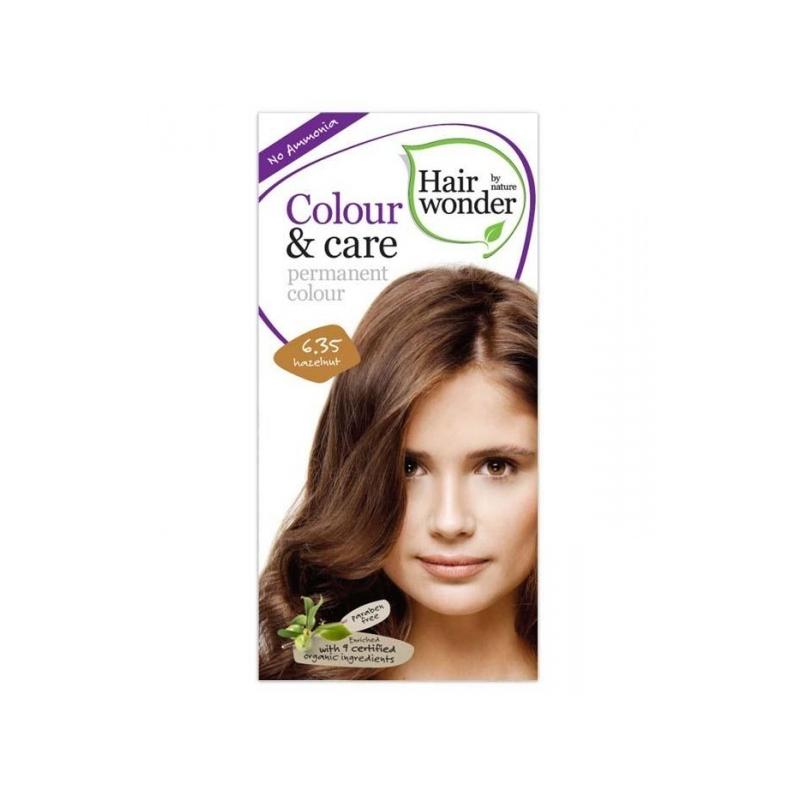 Hairwonder juuksevärv Colour and Care 6,35-pähkel