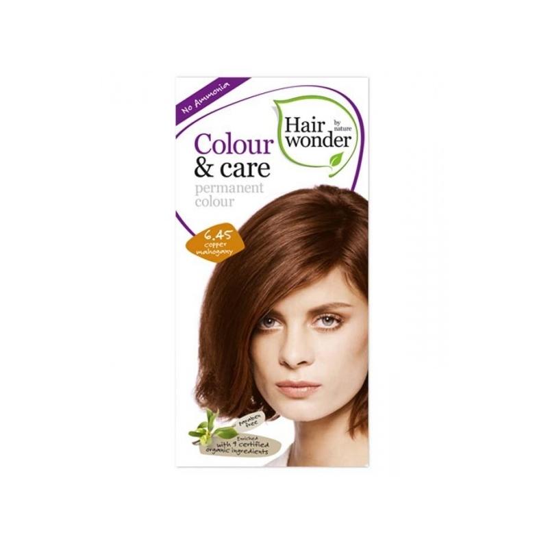 Hairwonder juuksevärv Colour and Care 6,45 vaskne mahagon