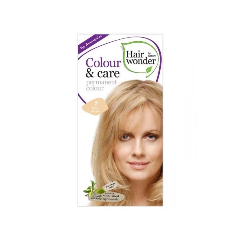 Hairwonder juuksevärv Colour and Care 8-heleblond
