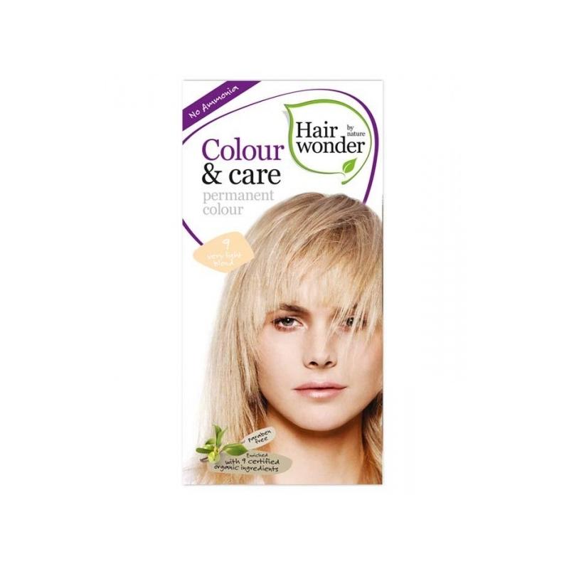 Hairwonder juuksevärv Colour and Care 9-heleblond