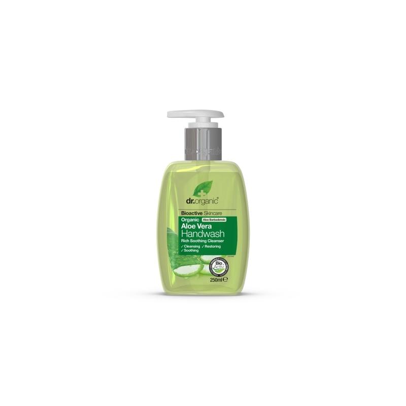 Dr.Organic Aloe Vera kätepesuseep