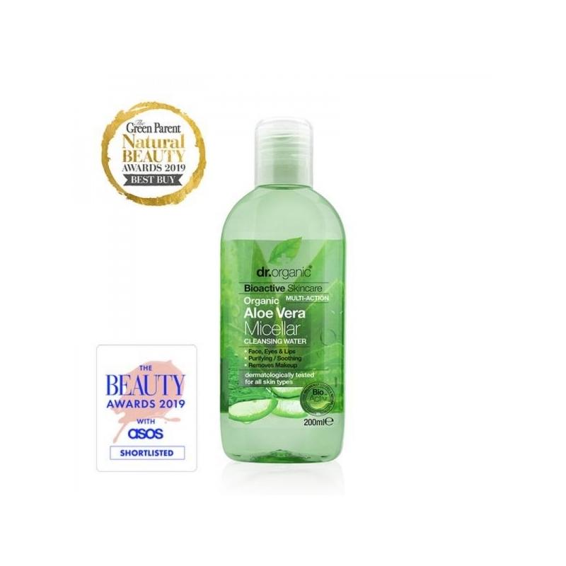 Dr.Organic Aloe Vera mitsellaarvesi
