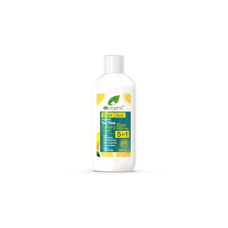 Dr.Organic Skin Clear Poore ahendav puhastav näotoonik