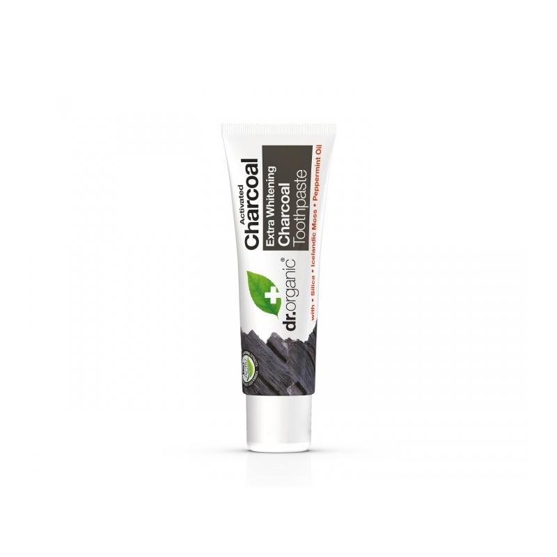 Dr.Organic Söe valgendav hambapasta - Travel size
