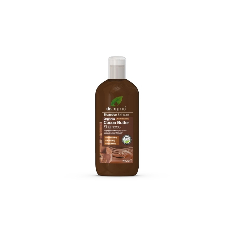 Dr.Organic Kakao kreemjas šampoon