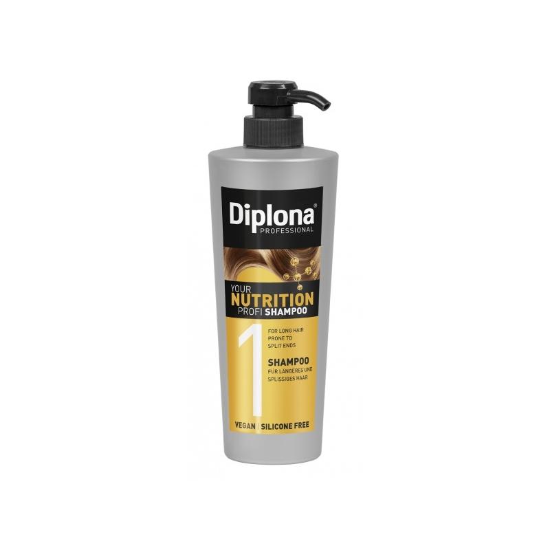 Diplona Professional Nutrition šampoon pikkadele juustele 430
