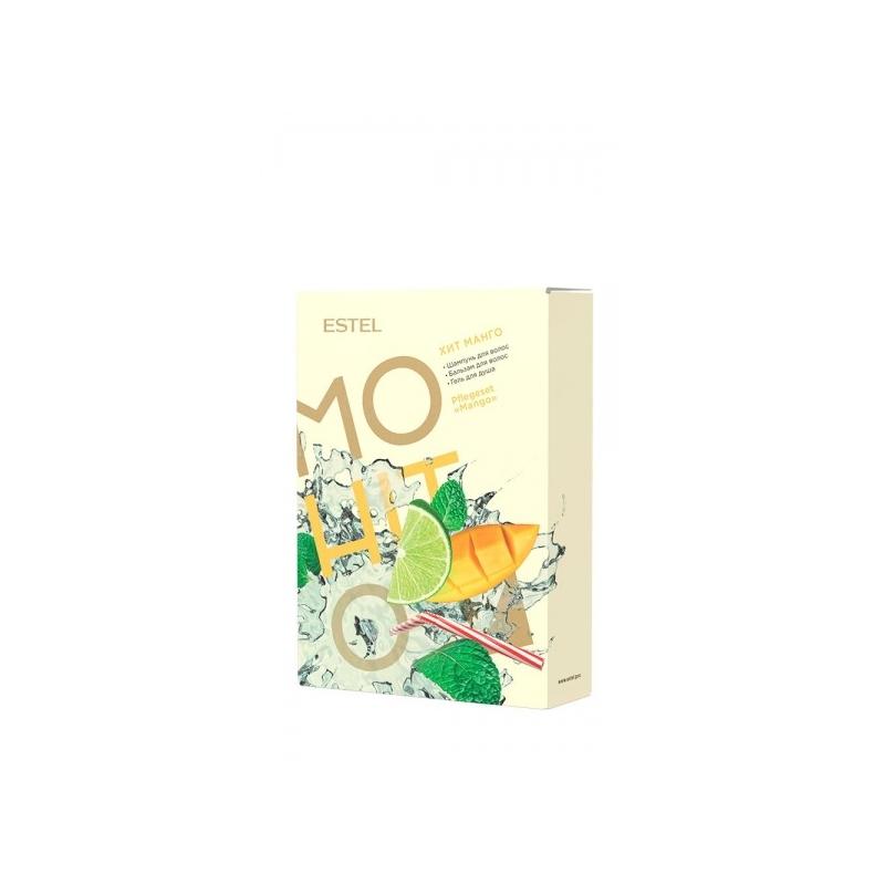 MOHITO Komplekt  HIT 3 Mango ( Šampoon piparmünt 250 ml, palsam mango 200 ml ja dušigeel ananass 200 ml)